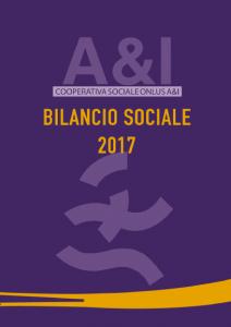 A&I Bilancio Sociale 2017