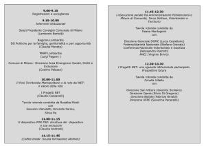 Programma Convegno 25 Gennaio2